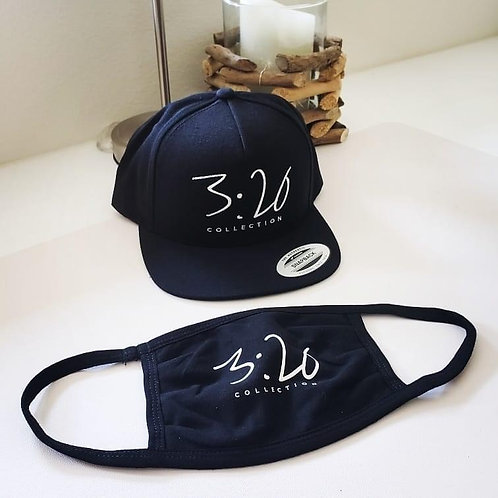 """3:20 COLLECTION """"SNAPBACK W/MASK"""""""