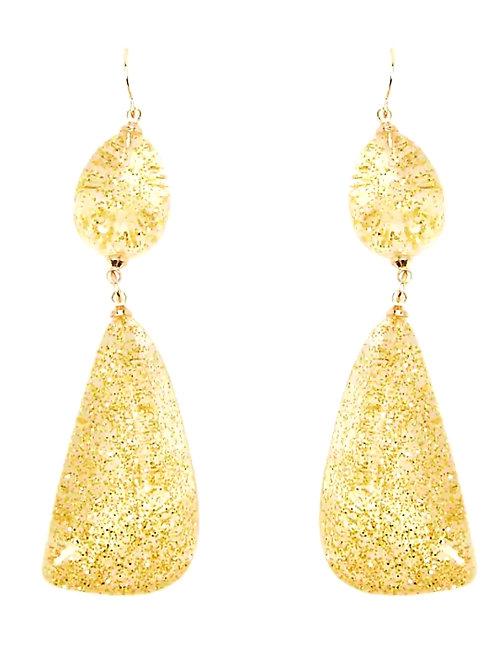 Lemon Drop Statement Earrings