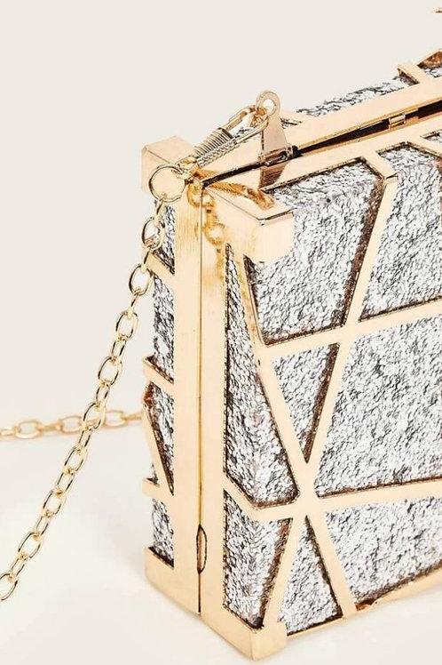 Glitter Clutch Handbag