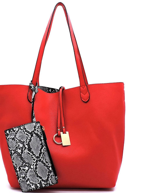 Reversible Handbag 3-in-1