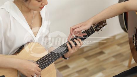 Vì sao khi học Guitar, luyện ngón là quan trọng nhất