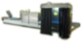 SECU-CHEK semi-automatic penetrant line with drying oven