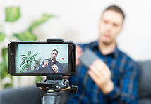 Filming with phone shutterstock_13161935