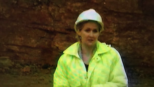 Presenter of Educational/Governmental Video talking about the importance of one of England's major quarries.