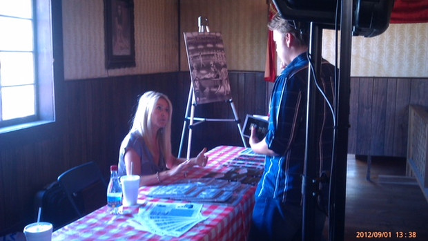 Book Signing at the Paracon Event Las Vegas 2012