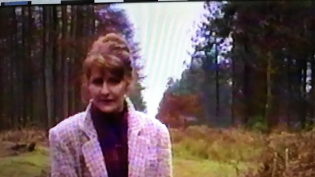 Reporter for UNN - Talking about an incident at Hanchurch Woods, England where strange lights were seen on a number of nights by local eye-witneses
