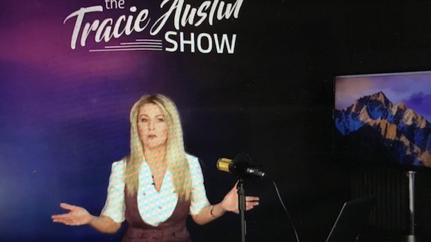 Hosting Another Episode of The Tracie Austin Show