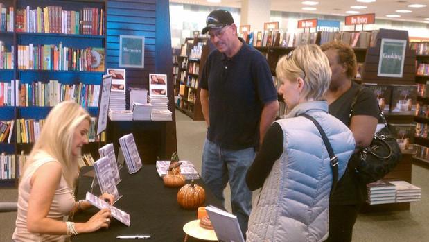 Book signing at Barnes & Noble, Las Vegas 2012