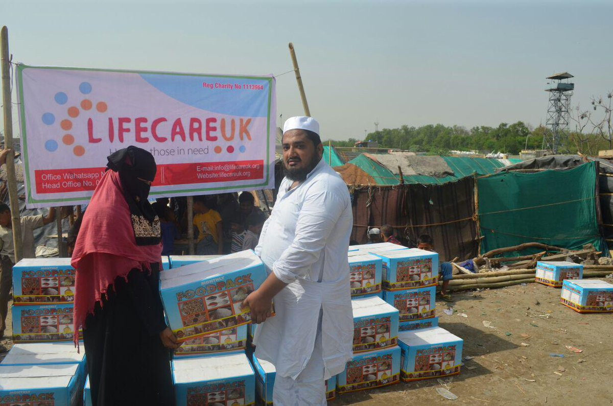 Distribution of Food packages