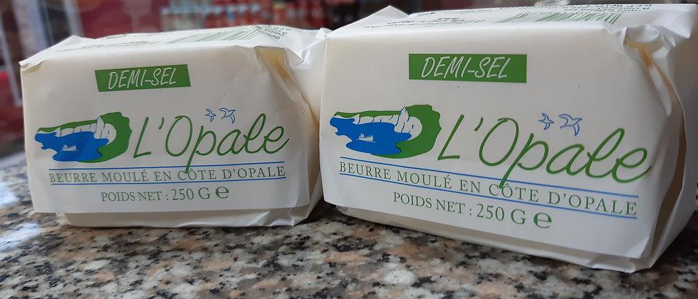 Beurre demi-sel L'opale