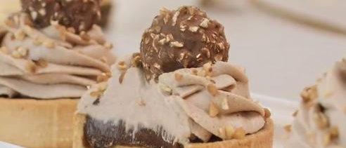 Tartelette Ferrero Rocher