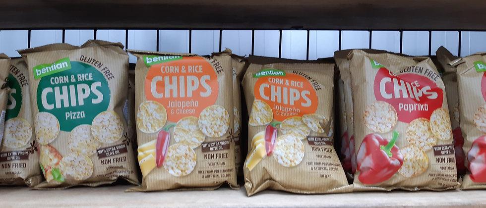 Chips vegan & gluten free
