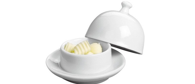 Beurrier porcelaine