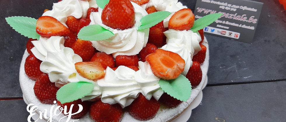 Tarte aux fraises Belges