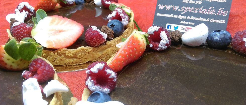 Croûte chocolat fruits des bois