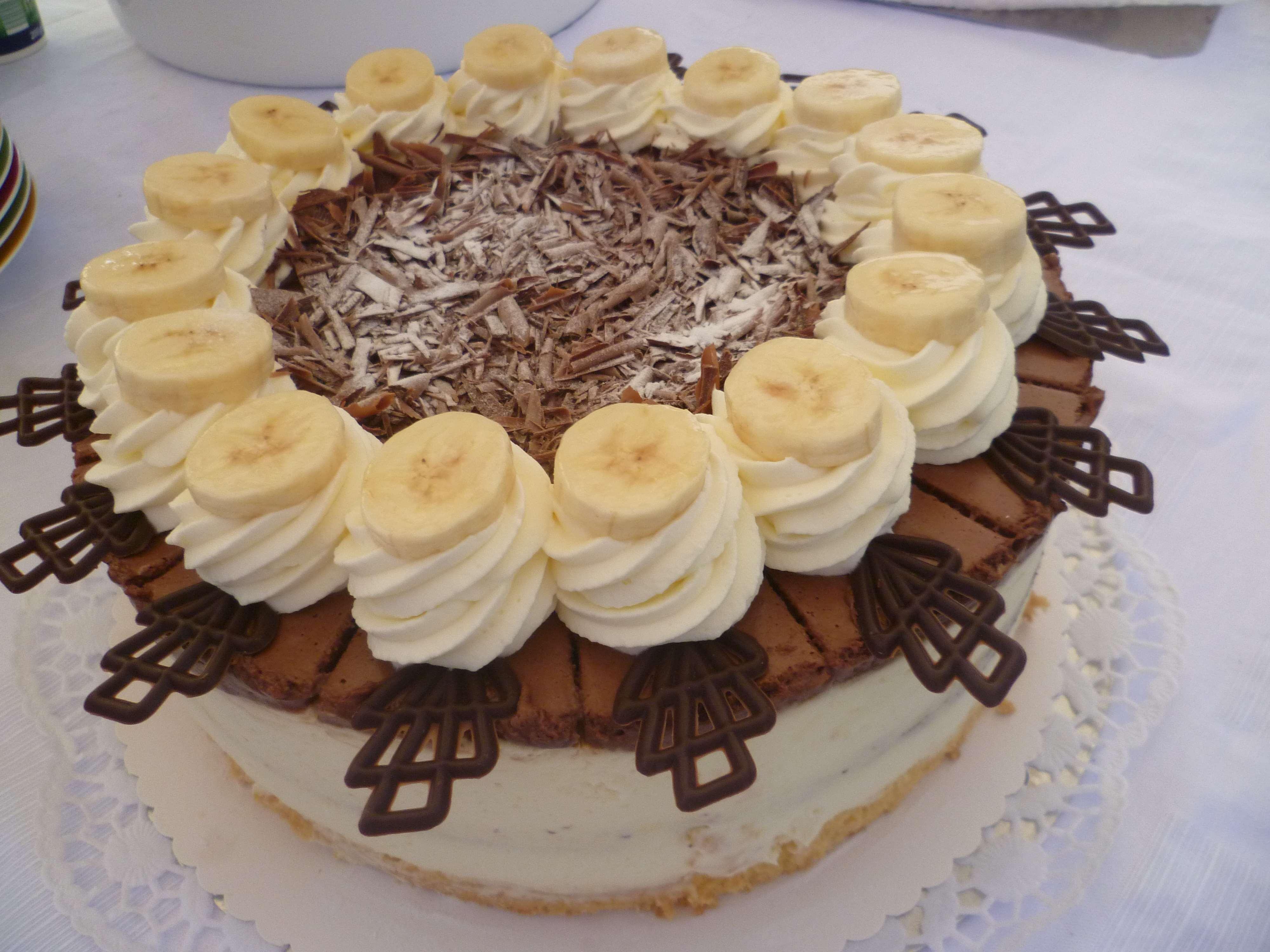 Schoko-Banane-Torte