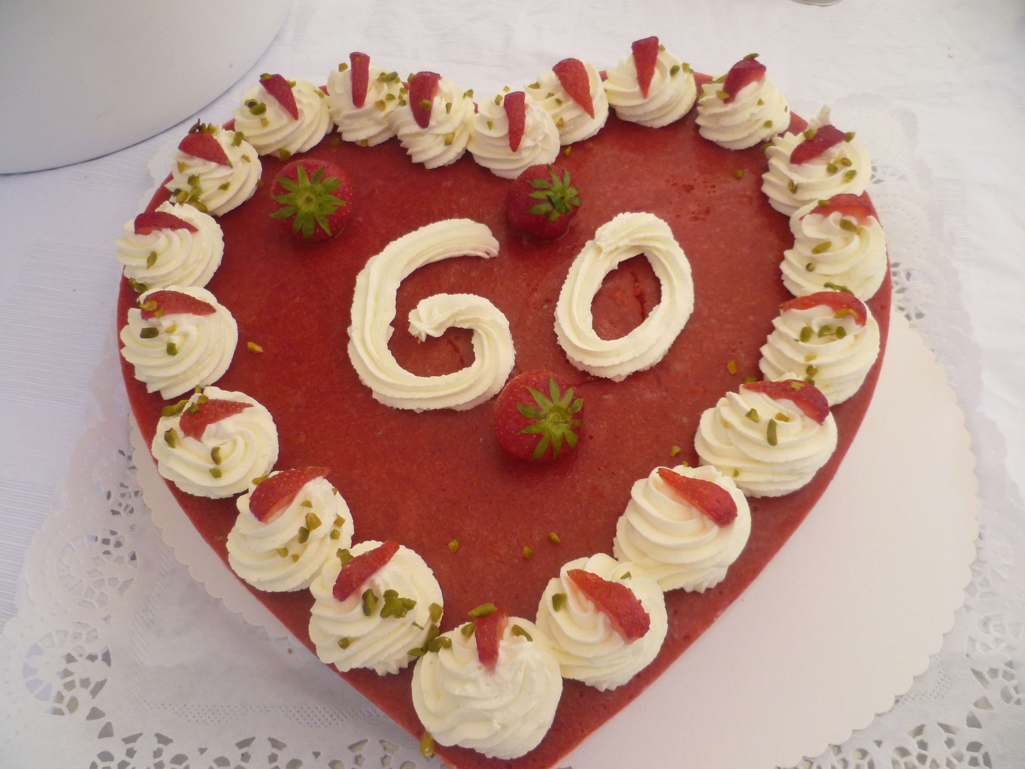 Erdbeer-Herz