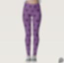 Venture Womens Purple Leggings