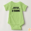 Venture Baby Bodysuit Spotter in Training