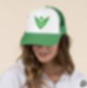Venture Trucker Hat, Green