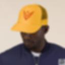 Venture Trucker Hat, Mustard