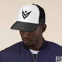 Venture Trucker Hat, B&W