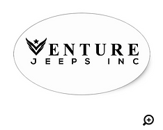 Venture Oval Sticker