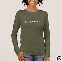 Venture Womens Long Sleeve, Green