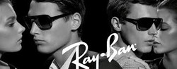 rayban b&w