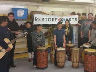 Restore Arts Launches After School Arts Programs at A.M. Hamilton Elementary School in Phoenix