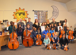 Restore Arts Gives Old Instruments a New Home at Kinsey Elementary School