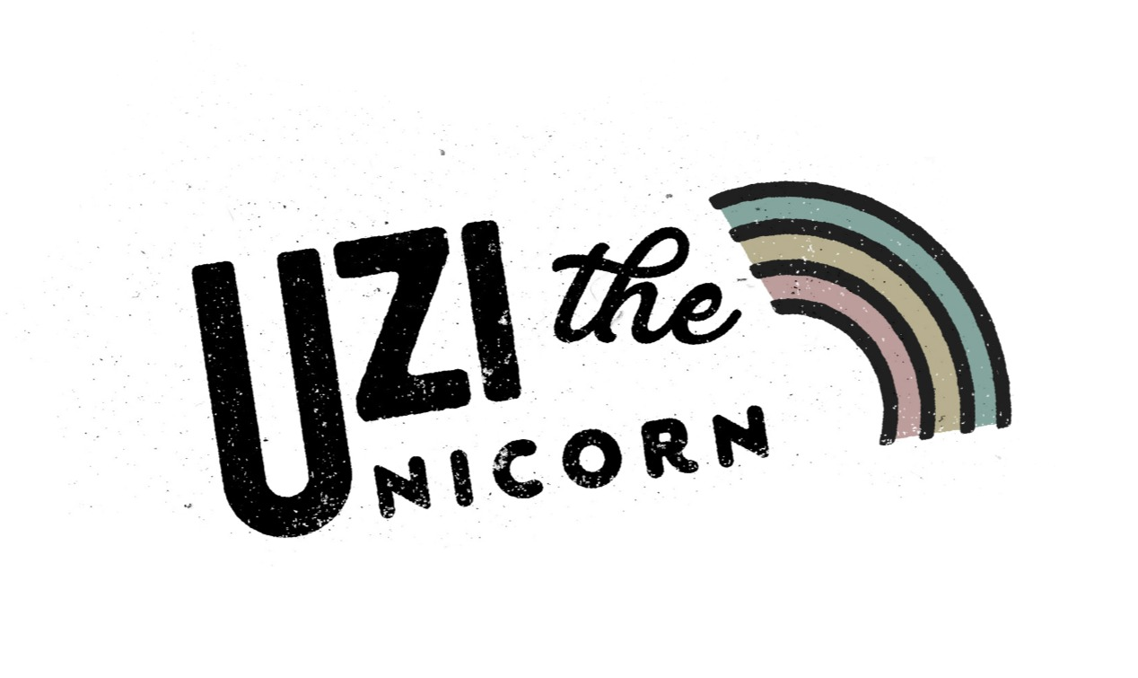 Uzi The Unicorn Logo