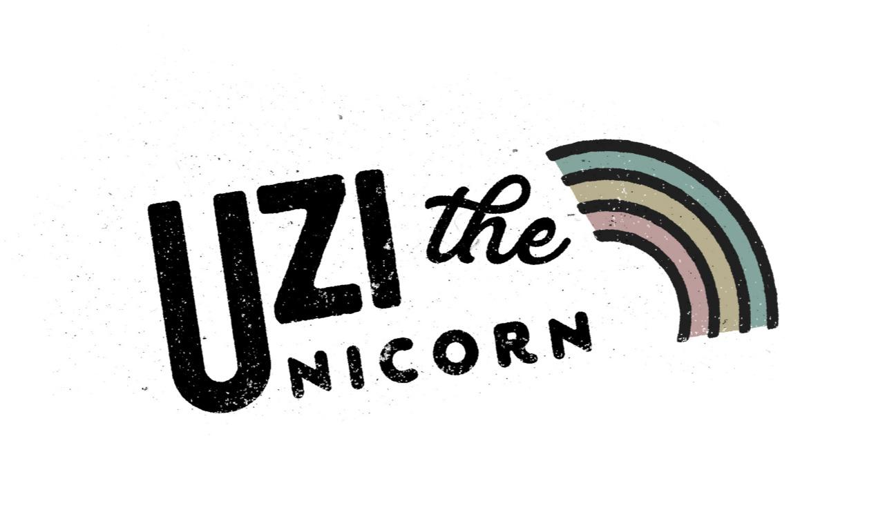 Uzi The Unicorn Logo