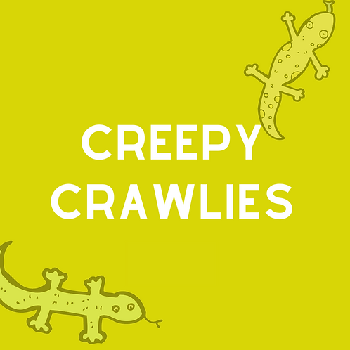Creepy Crawlies - NO TOTE