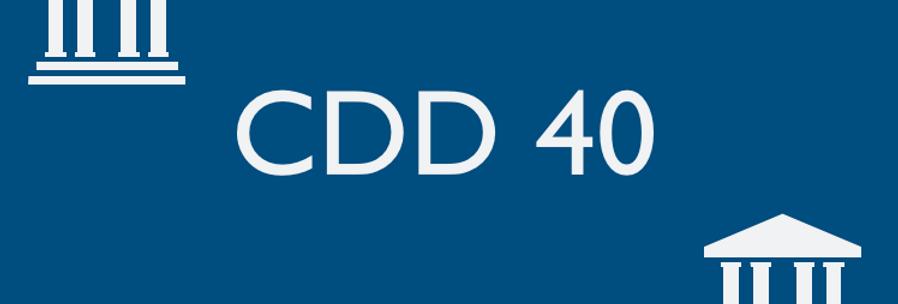 CDD 40