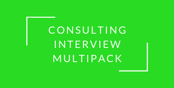 Consulting Interview Multipack (150+)