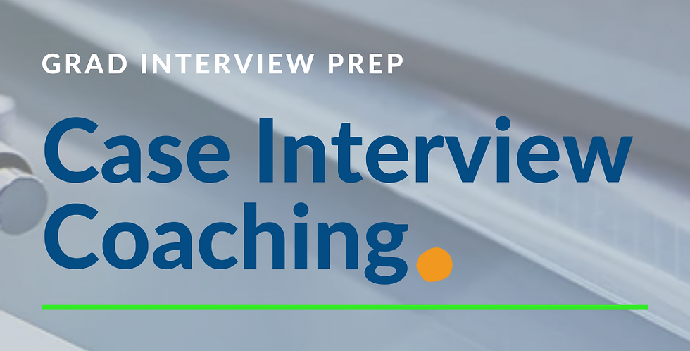 Case Interview Coaching