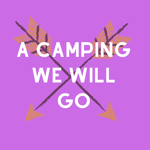 A Camping We Will Go - Sibling Kit