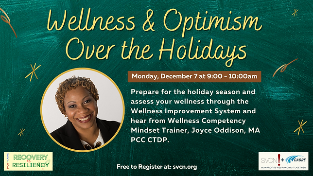 Wellness and Optimism Over the Holidays.