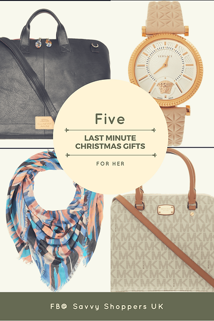 Christmas Gifts For Her Uk.Five Last Minute Christmas Gifts For Her Home Savvy