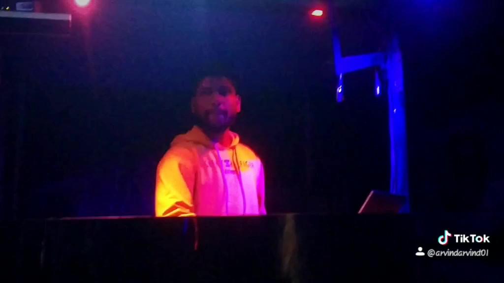 Dj Arvind Performing | dj courses hyderabad