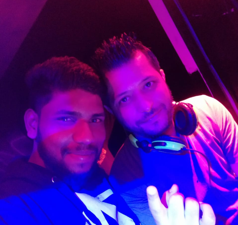 DJ Arvind  with other know DJ's from the industry