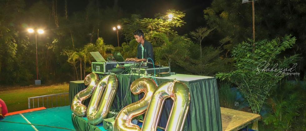 DJ Prash NYE Stage | Dj academy Opportunity