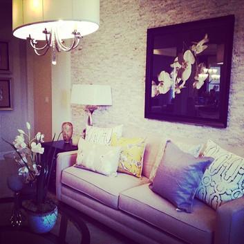 Model Home Sitting Room