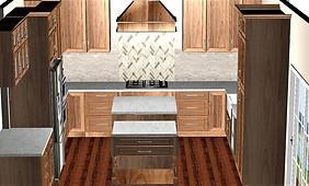 3D Kitchen Remodel
