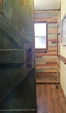 Rustic ADA Bath Remodel
