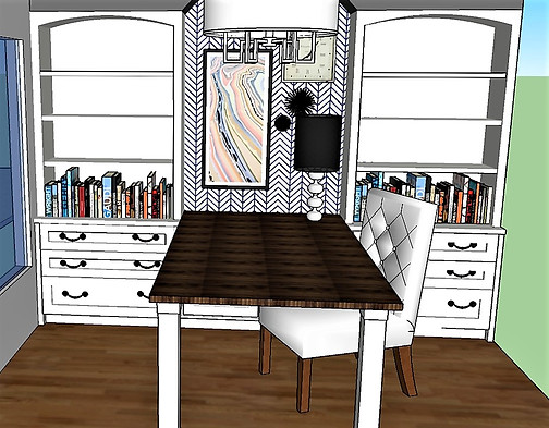 3D Office Built In Rendering