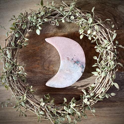 Pink Amethyst Moon Slab