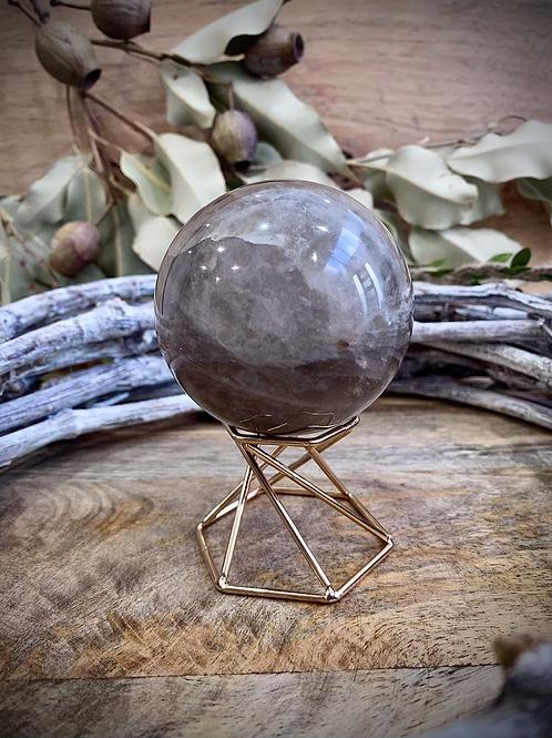 Smoky Quartz Sphere