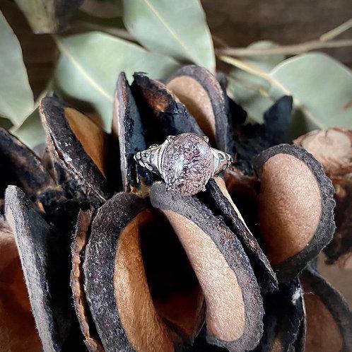 Garden Quartz Ring Large
